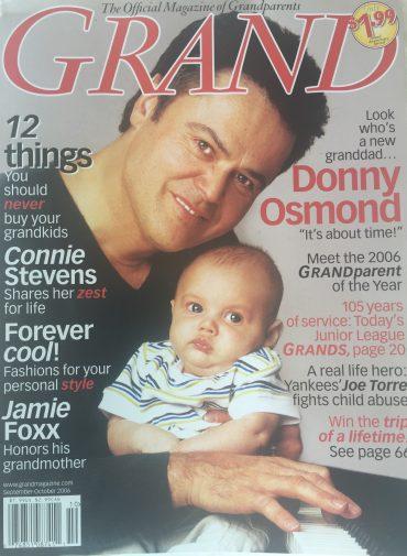 Donny Osmond – Living On The Edge