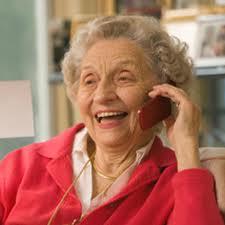 phone with grandma