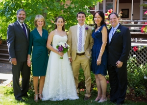 Josh and Natalie with parents