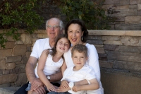 Age Wave's Elyse Pellman and family