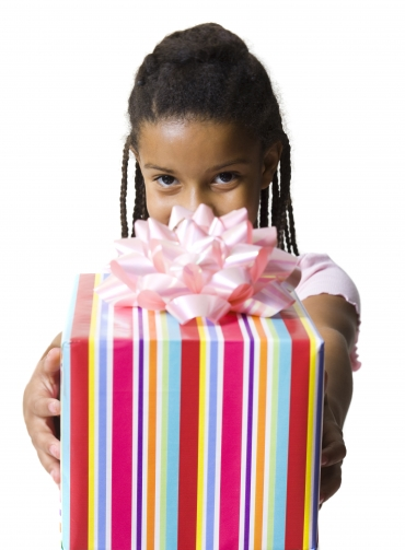 Gift giving: To Nana, With Love