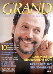 Grandparent, Billy Crystal, on Issue 1 cover of September 2004 GRAND Magazine resource