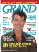 American grandparent, PierceBrosnan on cover of GRAND Magazine