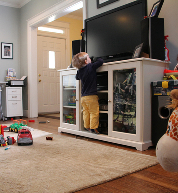 Child Safety: Furniture and TV Tip-Overs