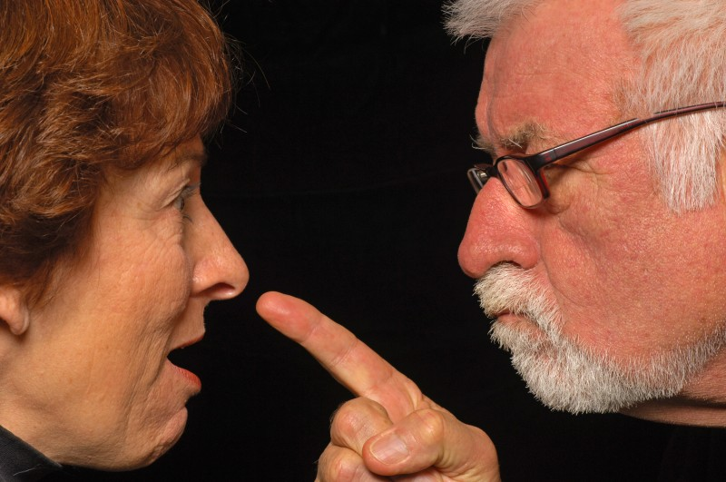 squabbling grandparents