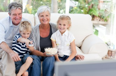How to Watch TV (The Best Way) With Your Grandkids