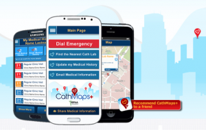Cath Maps for cardiac patients so they can travel with peace of mind