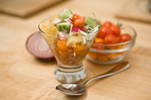 Gazpacho,summer salad,