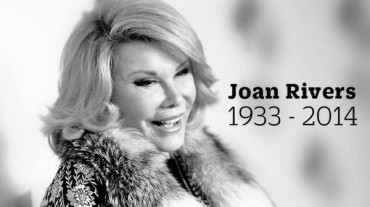 RIP Joan Rivers – Mom, GRANDmom and Comic Extraordinaire