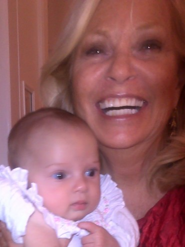 Tina Sloan Ecstatic Over New GRANDbaby