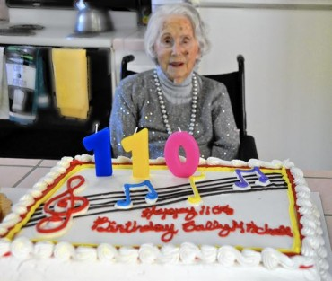 Supercentenarian marks 110 years with a sense of humor