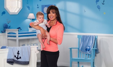marie osmond with baby steven