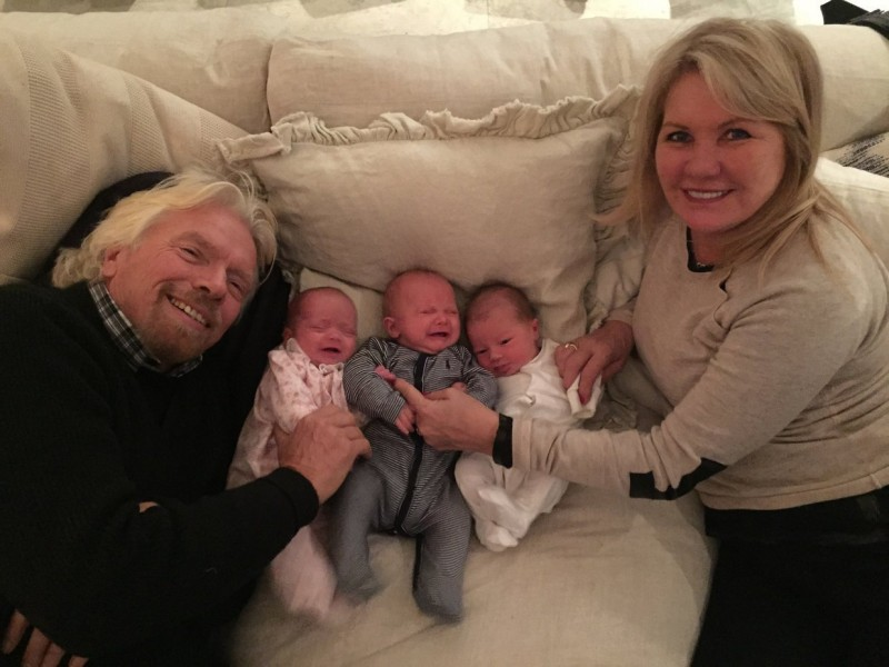 Richard Branson Gives Employees A Year Of Parental Paid
