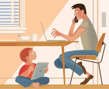 How to Cut Children's Screen Time? Say No to Yourself First