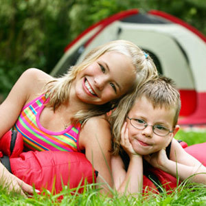 Taking The Grandkids Camping At Camp Atcha Ownrisk
