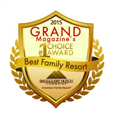 Smugglers' Notch Is GRAND Magazine's #1 Choice Award: Best Family Resort!