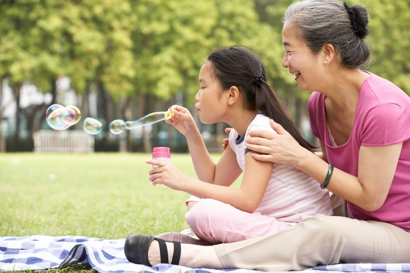 How You Can Teach Your Grandkids To Live Mindfully