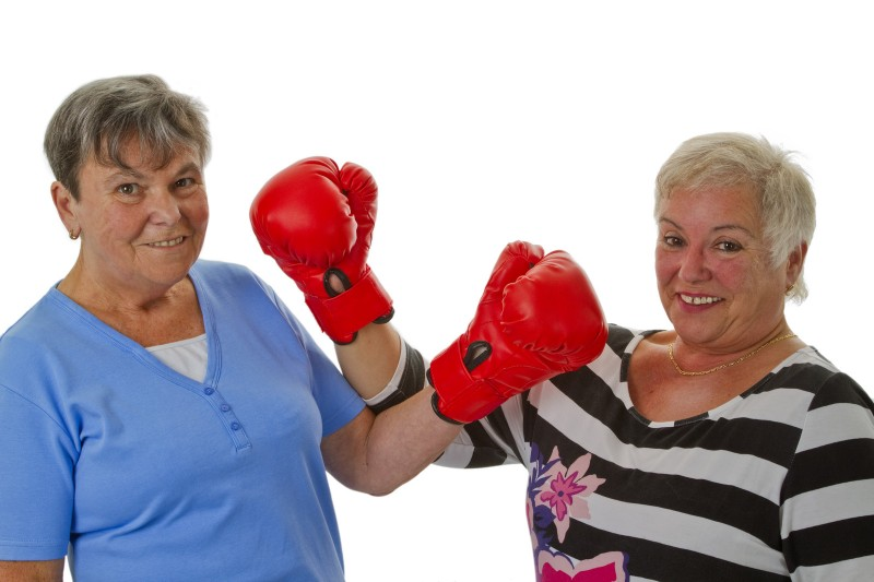 "Dueling Grandmas: Staring Down ""The Other One"""