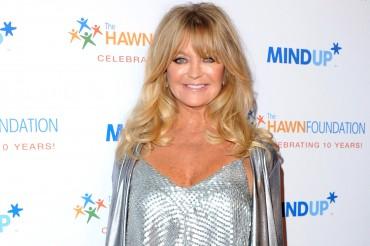 From Comedian To Guru, Goldie Hawn Works Hard To Make Children Happy