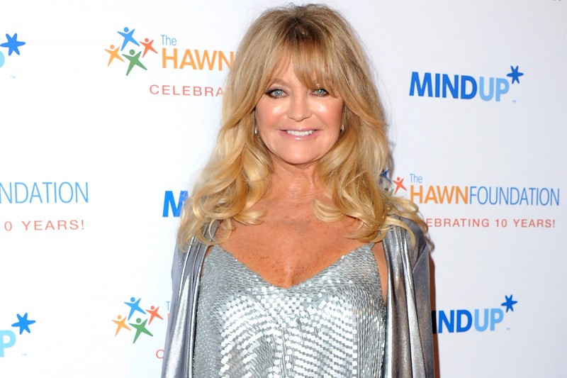 From Comedian To Guru, Goldie Hawn Works Hard To Make Children Happy