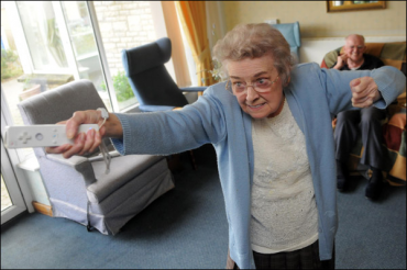 Games Can Help Rejuvenate The Elderly