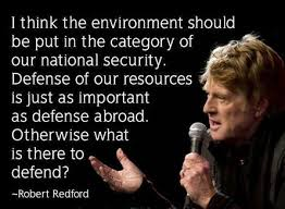 Robert Redford – A Climate Concerned Grandfather