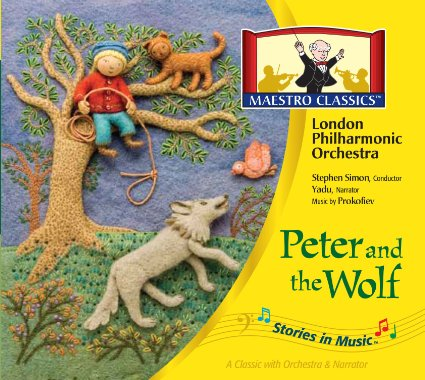 Maestro Classics GRANDmom Brings Peter And The Wolf To Your Grandkids