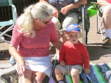 Grandma Takes Her Two-Year-Old Grandson To The Mall