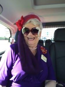 The ever-so-glam, Marilyn Waltz taking in Dubai
