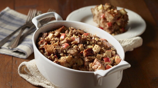 Healthy Recipes Kids Will Eat: Apple Bread Pudding
