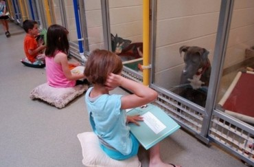 Kids Reading To Shelter Dogs? You'll Love This!