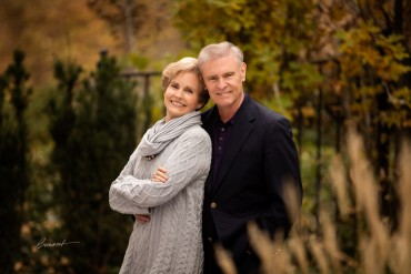 Flying high; JetBlue's Chairman Joel Peterson and wife Diana