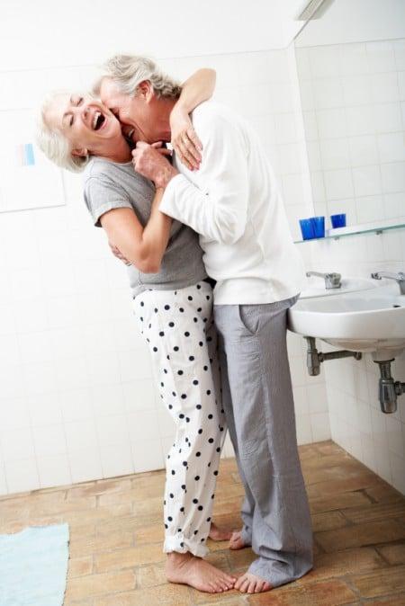 "It's fun being ""elderly"" too!"