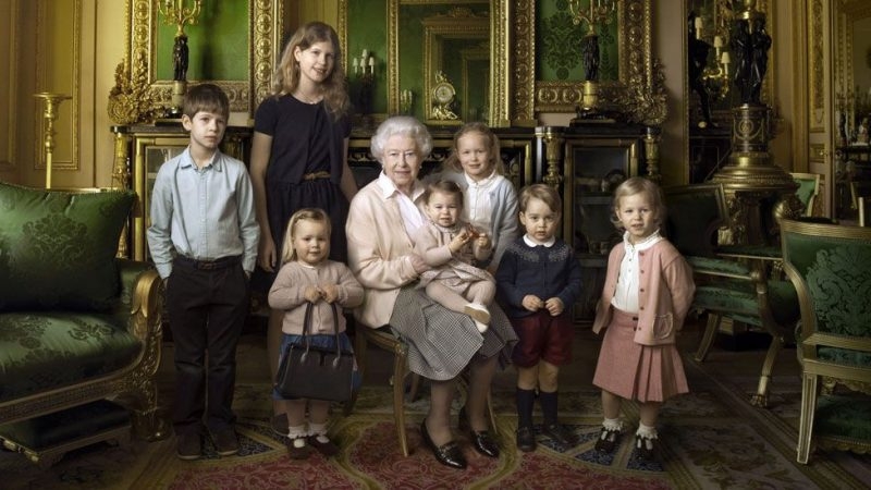 Queen Elizabeth With GRANDchildren – The Youngest Royals