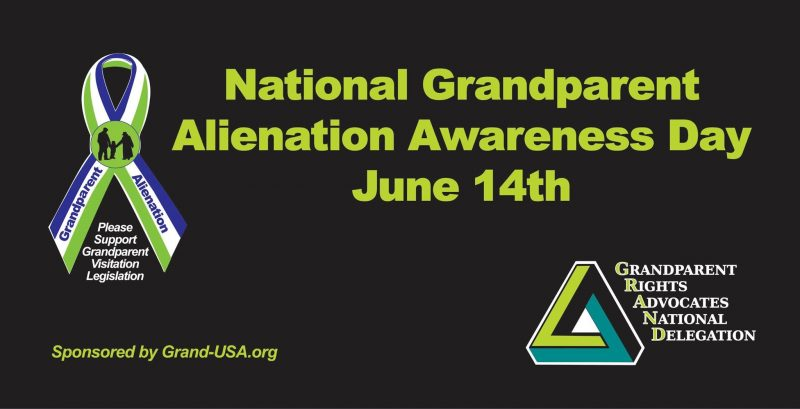 "Did You Know June 14th is ""National Alienated Grandparents Awareness"" Day?"