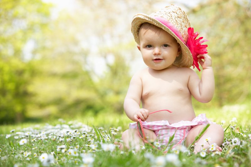 My GRANDbaby:  Summer In Full Bloom