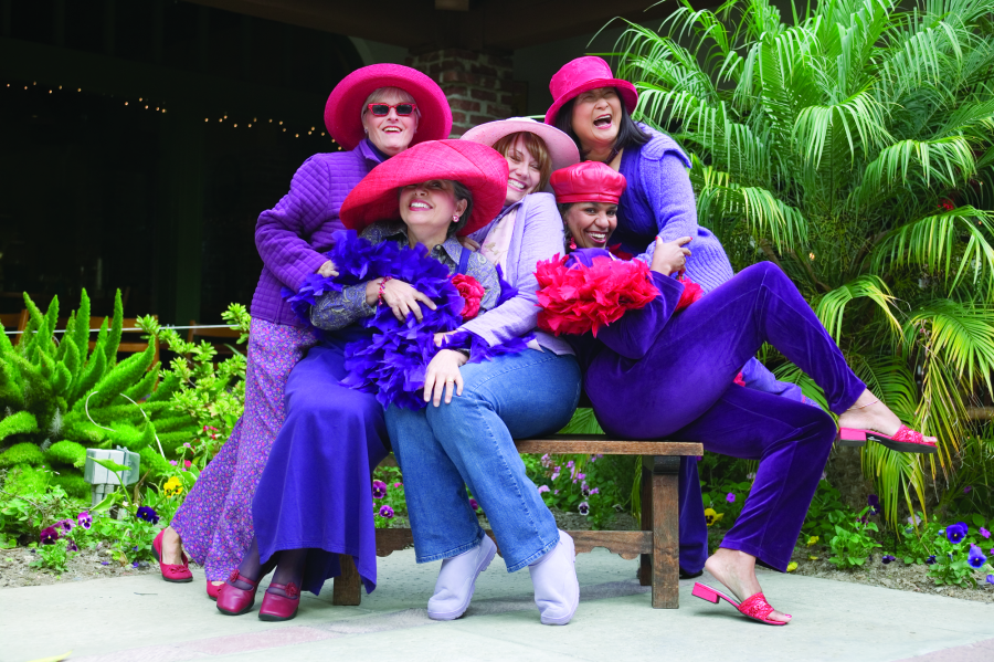 GRANDmother Training – Red Hat Society Style