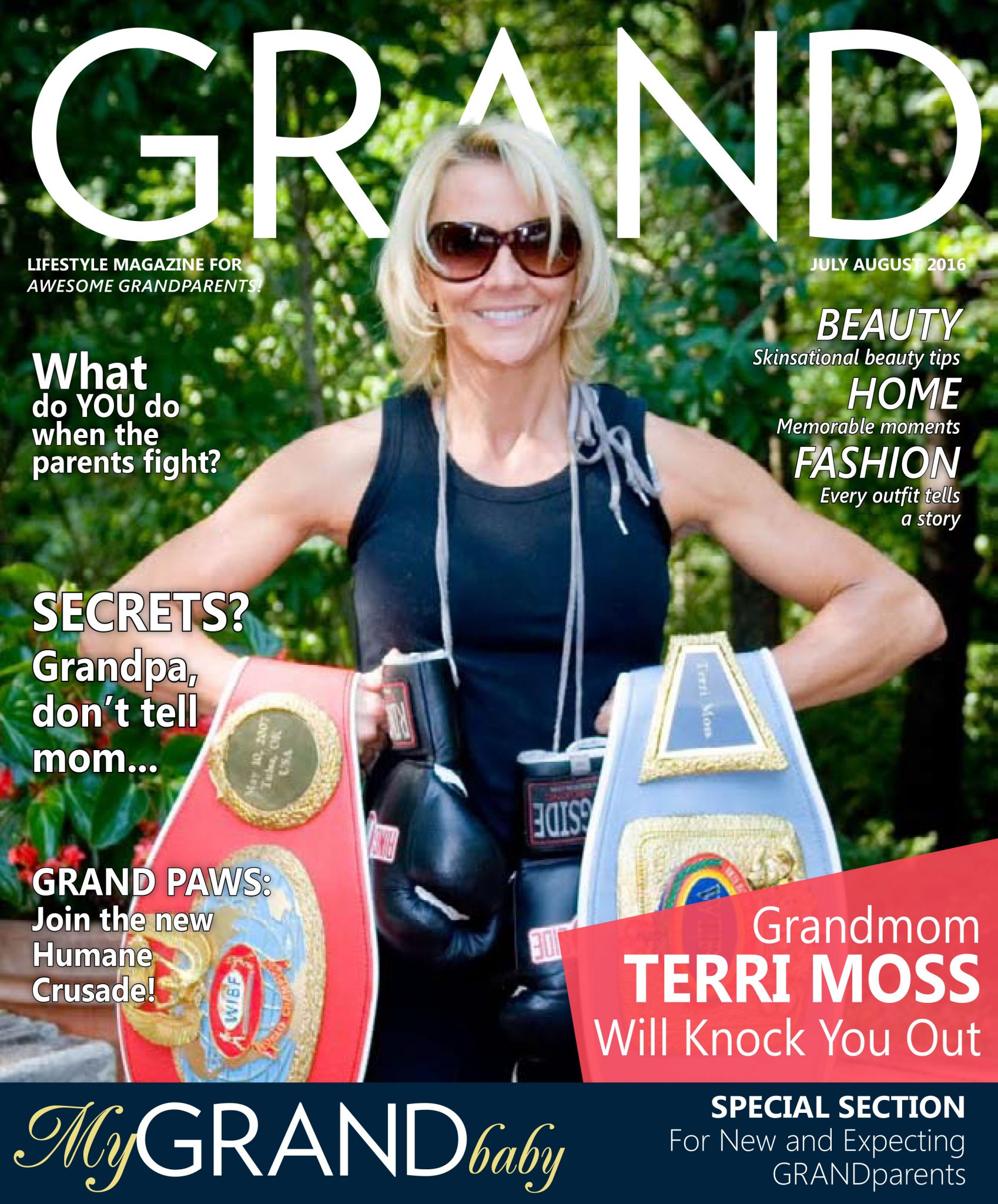 July/Aug 2016 GRAND Magazine cover