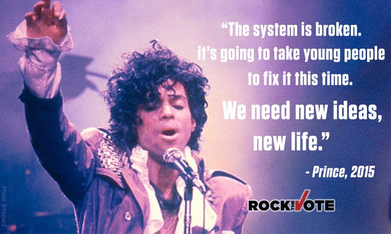 Rock the Vote – Share With The Young Voters In Your Life