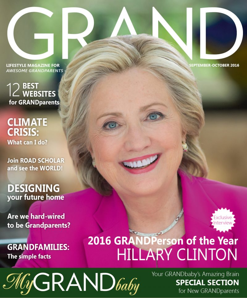 Did You Know Hillary Clinton Is GRANDPerson of the Year?
