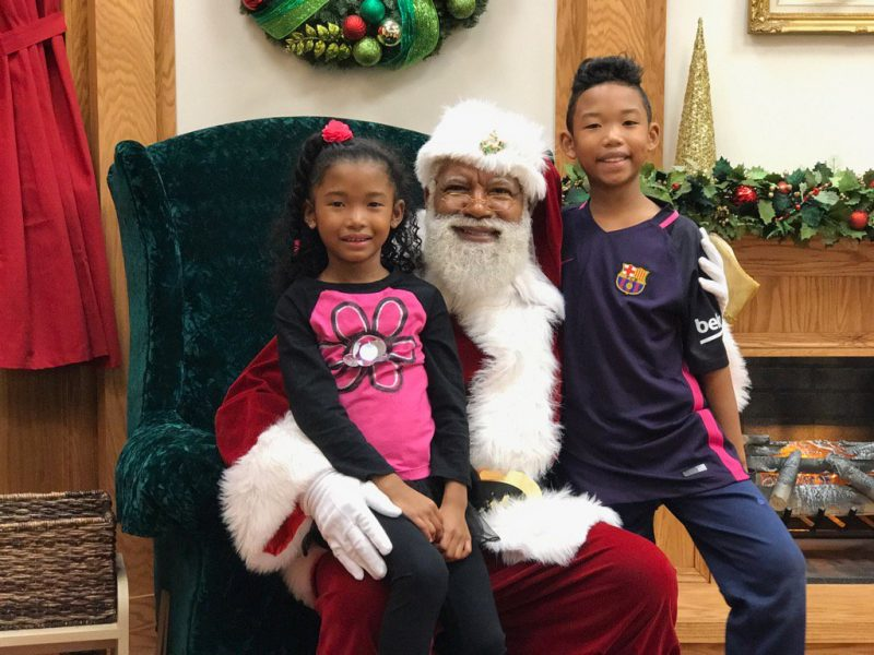 Can This Santa Help Diffuse Racism in America?