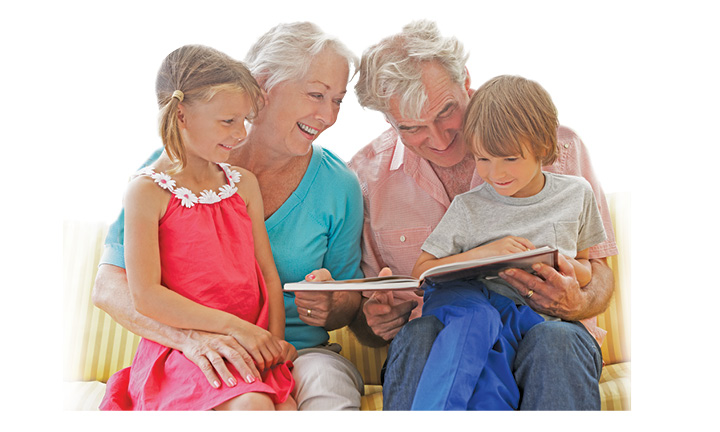 Love Your Grandkids? Share A World Of Books With Them!