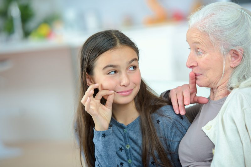 Grandparents, Grandchildren, and Family Secrets