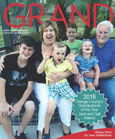 Meet Orange County's GRANDparents of the Year – Jack & Gail Adams