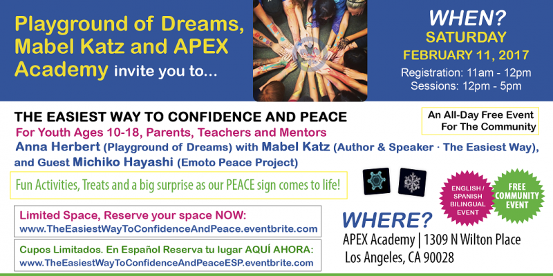 A FREE LOS ANGELES EVENT – The Easiest Way to Confidence and Peace
