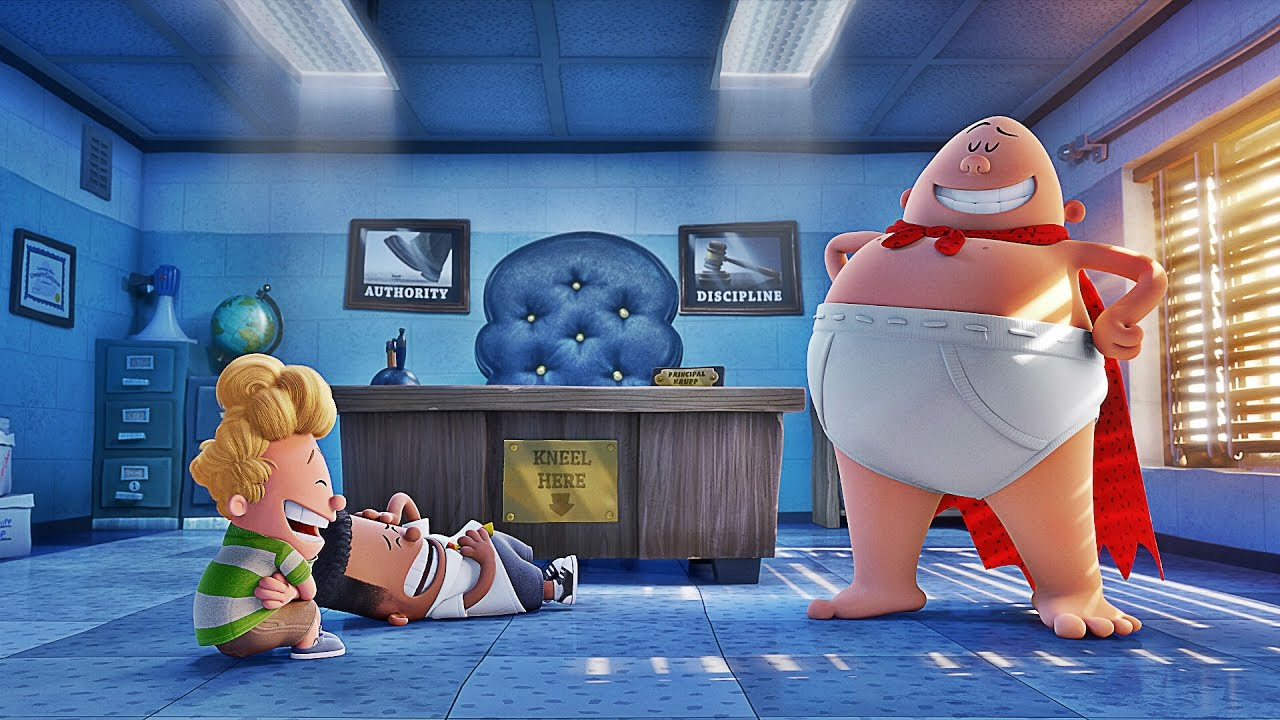 Captain Underpants The First Epic Movie Is A Big Hit With Kids