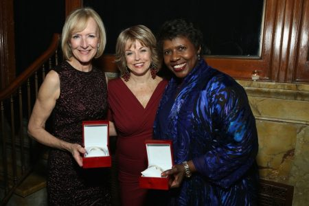 Pat Mitchell, Judy Woodruff, Gwen Ifill