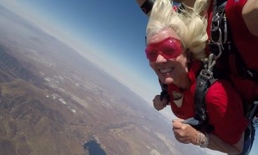 It's a Bird; It's a Plane;  It's Grandma!
