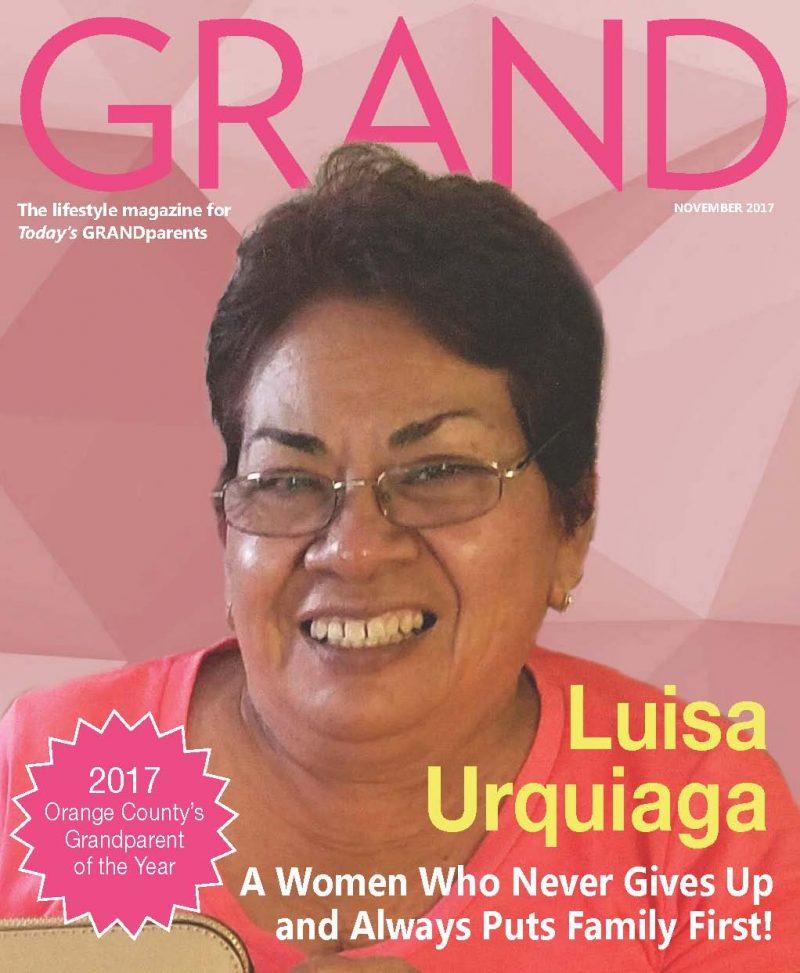 Meet the 2017 GRANDparent of the Year – Luisa Urquiaga