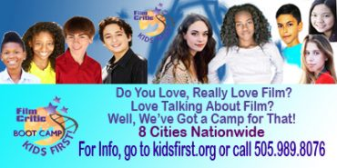 Coming Soon! The One and Only KIDS FIRST! Film Critics Boot Camp